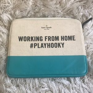 Kate Spade working from home play hooky IPad case